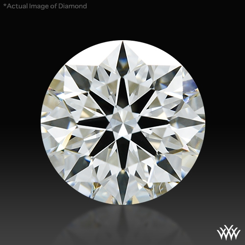1.204 ct H VS1 A CUT ABOVE® Hearts and Arrows Super Ideal Round Cut Loose Diamond