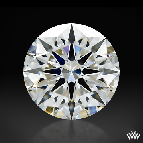 1.228 ct I VS2 A CUT ABOVE® Hearts and Arrows Super Ideal Round Cut Loose Diamond