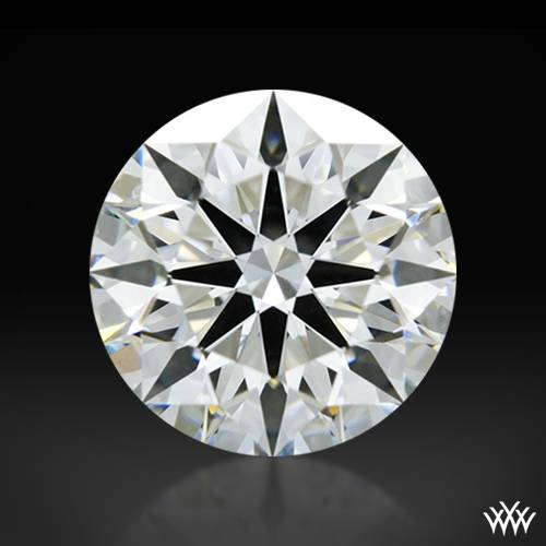 1.254 ct H VS1 A CUT ABOVE® Hearts and Arrows Super Ideal Round Cut Loose Diamond