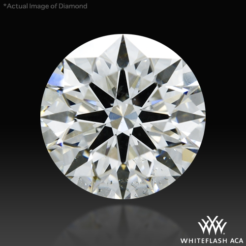 1.335 ct H SI1 A CUT ABOVE® Hearts and Arrows Super Ideal Round Cut Loose Diamond