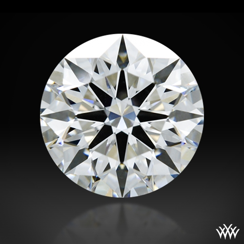 1.503 ct E VS1 A CUT ABOVE® Hearts and Arrows Super Ideal Round Cut Loose Diamond