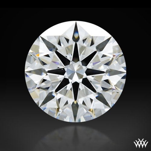 1.542 ct F VS2 A CUT ABOVE® Hearts and Arrows Super Ideal Round Cut Loose Diamond