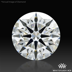 1.251 ct F VS2 A CUT ABOVE® Hearts and Arrows Super Ideal Round Cut Loose Diamond