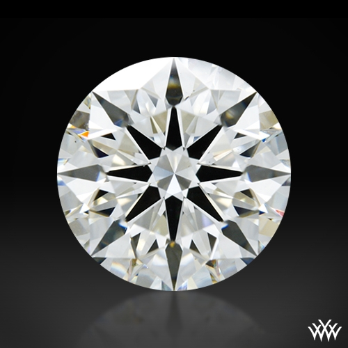 1.516 ct H VS2 A CUT ABOVE® Hearts and Arrows Super Ideal Round Cut Loose Diamond