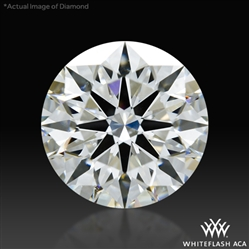 1.204 ct G VS2 A CUT ABOVE® Hearts and Arrows Super Ideal Round Cut Loose Diamond