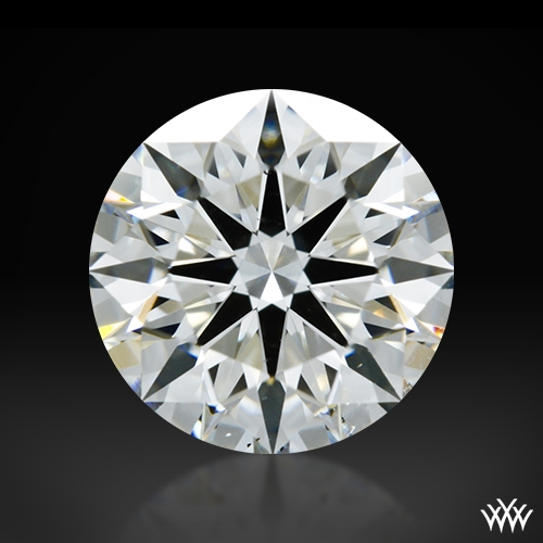 1.248 ct H VS2 A CUT ABOVE® Hearts and Arrows Super Ideal Round Cut Loose Diamond