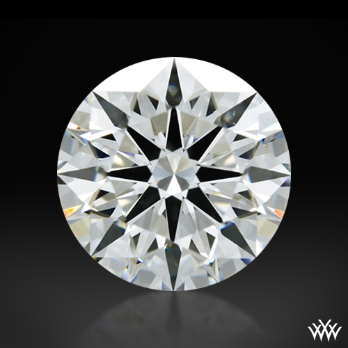 1.228 ct H VS1 A CUT ABOVE® Hearts and Arrows Super Ideal Round Cut Loose Diamond