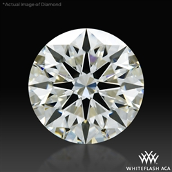 1.272 ct J VS1 A CUT ABOVE® Hearts and Arrows Super Ideal Round Cut Loose Diamond
