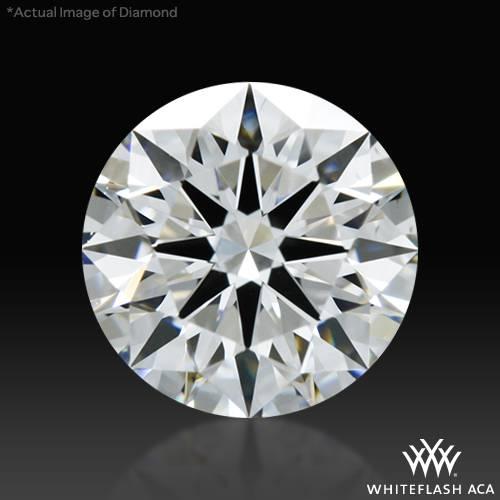 0.661 ct E VS2 A CUT ABOVE® Hearts and Arrows Super Ideal Round Cut Loose Diamond