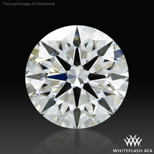 0.626 ct H VS2 A CUT ABOVE® Hearts and Arrows Super Ideal Round Cut Loose Diamond