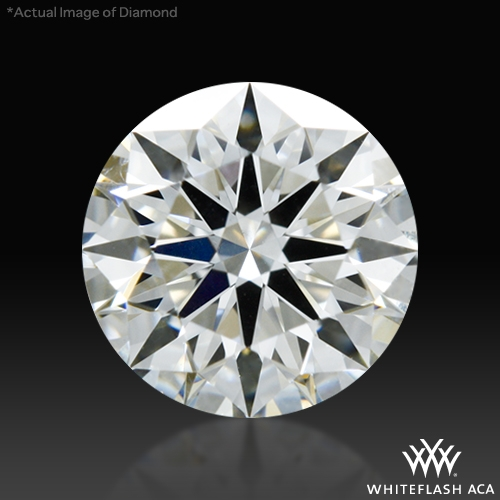 0.672 ct I VS1 A CUT ABOVE® Hearts and Arrows Super Ideal Round Cut Loose Diamond