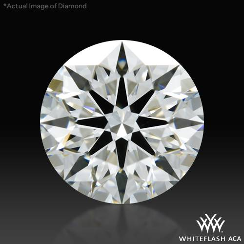 0.801 ct G VS2 A CUT ABOVE® Hearts and Arrows Super Ideal Round Cut Loose Diamond
