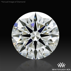 0.748 ct H VS1 A CUT ABOVE® Hearts and Arrows Super Ideal Round Cut Loose Diamond