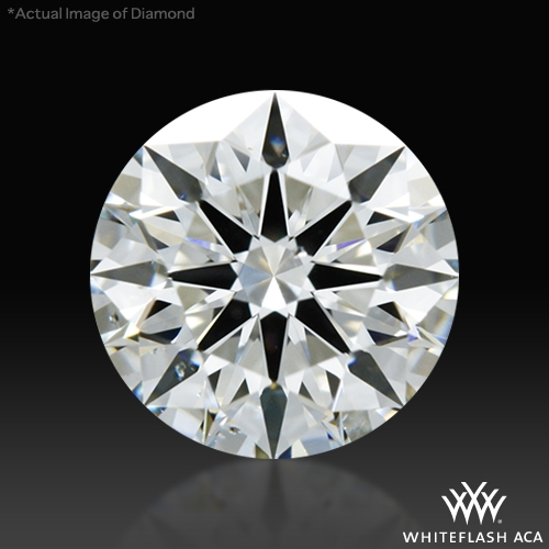 0.748 ct G SI1 A CUT ABOVE® Hearts and Arrows Super Ideal Round Cut Loose Diamond
