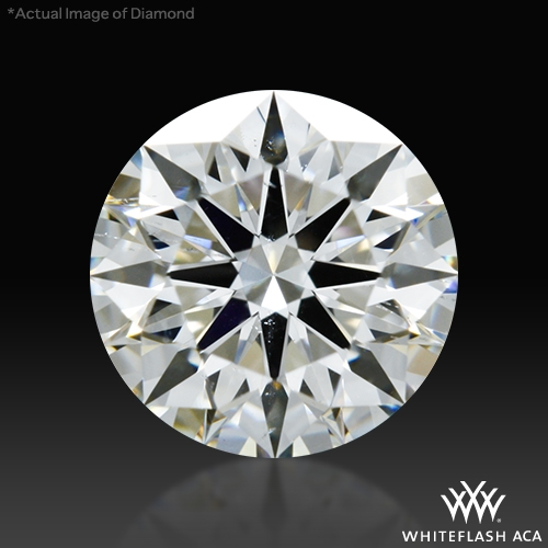 0.821 ct G SI1 A CUT ABOVE® Hearts and Arrows Super Ideal Round Cut Loose Diamond