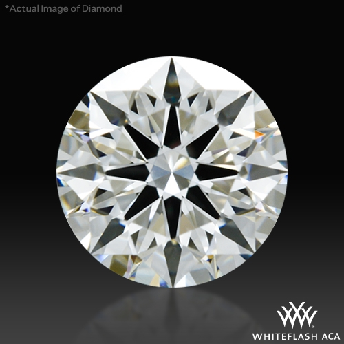 0.821 ct H VS1 A CUT ABOVE® Hearts and Arrows Super Ideal Round Cut Loose Diamond