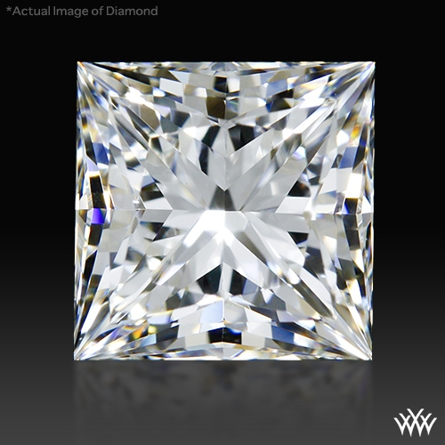 0.947 ct G VVS2 A CUT ABOVE® Princess Super Ideal Cut Diamond