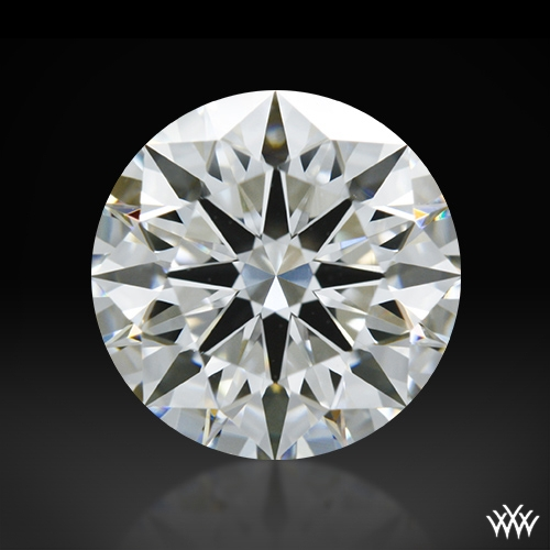 1.308 ct H VVS2 A CUT ABOVE® Hearts and Arrows Super Ideal Round Cut Loose Diamond