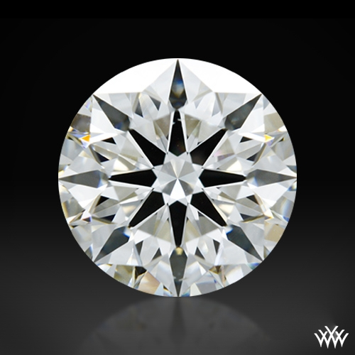 1.034 ct G VS2 A CUT ABOVE® Hearts and Arrows Super Ideal Round Cut Loose Diamond
