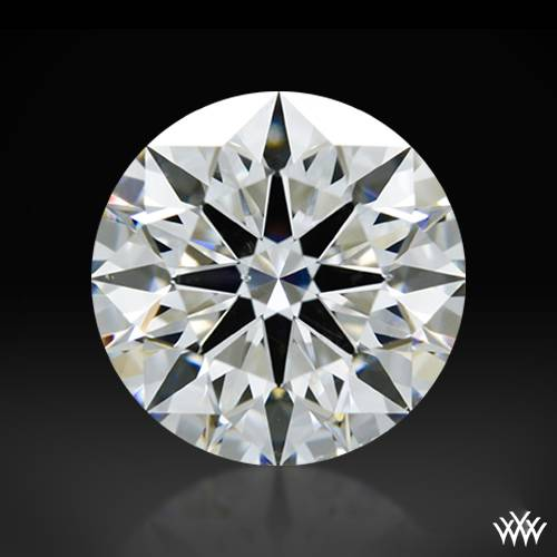 1.044 ct F SI1 A CUT ABOVE® Hearts and Arrows Super Ideal Round Cut Loose Diamond