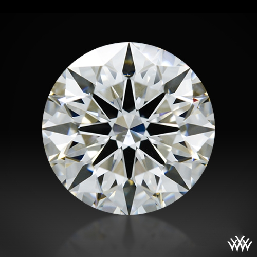 1.162 ct G VS2 A CUT ABOVE® Hearts and Arrows Super Ideal Round Cut Loose Diamond