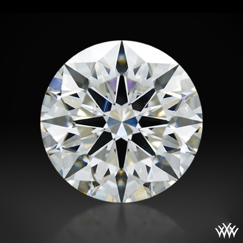1.111 ct H SI1 A CUT ABOVE® Hearts and Arrows Super Ideal Round Cut Loose Diamond