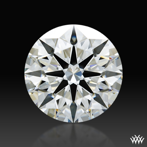 1.101 ct H VS2 A CUT ABOVE® Hearts and Arrows Super Ideal Round Cut Loose Diamond