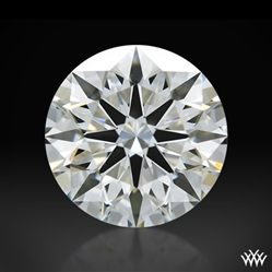 1.024 ct H VS1 A CUT ABOVE® Hearts and Arrows Super Ideal Round Cut Loose Diamond