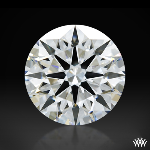 0.922 ct E VVS2 A CUT ABOVE® Hearts and Arrows Super Ideal Round Cut Loose Diamond