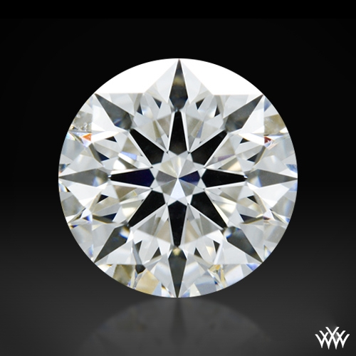 0.912 ct E VS1 A CUT ABOVE® Hearts and Arrows Super Ideal Round Cut Loose Diamond
