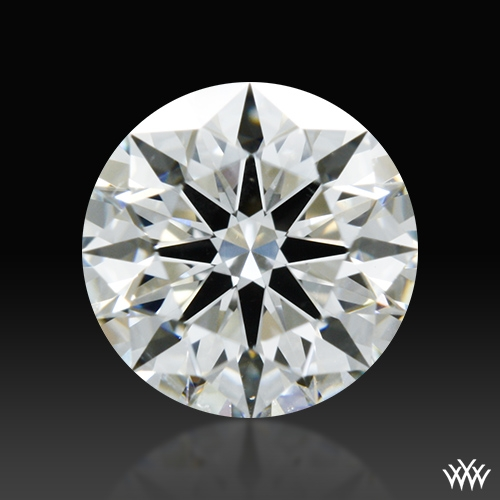 0.586 ct G SI1 A CUT ABOVE® Hearts and Arrows Super Ideal Round Cut Loose Diamond