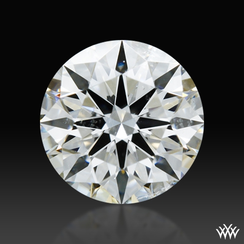 0.557 ct G SI1 A CUT ABOVE® Hearts and Arrows Super Ideal Round Cut Loose Diamond