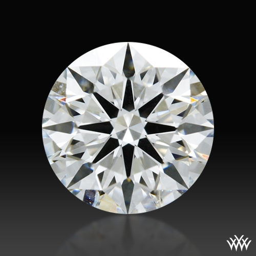 0.596 ct G VS2 A CUT ABOVE® Hearts and Arrows Super Ideal Round Cut Loose Diamond
