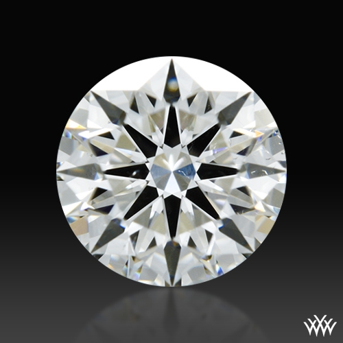 0.544 ct H SI1 A CUT ABOVE® Hearts and Arrows Super Ideal Round Cut Loose Diamond