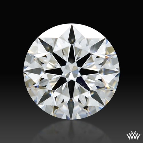 0.584 ct G VS2 A CUT ABOVE® Hearts and Arrows Super Ideal Round Cut Loose Diamond