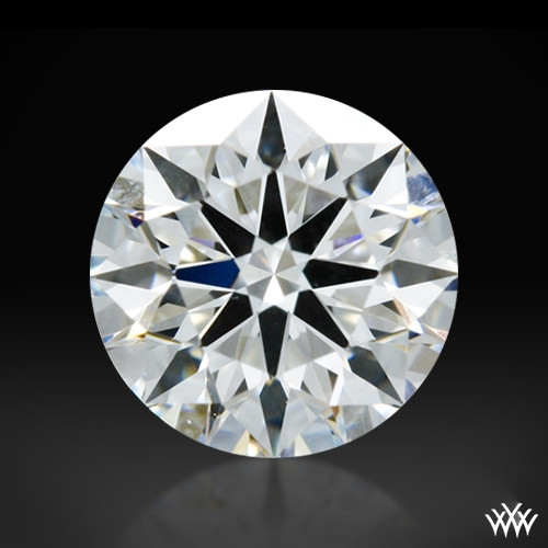0.512 ct F VS2 A CUT ABOVE® Hearts and Arrows Super Ideal Round Cut Loose Diamond