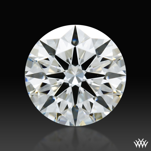 0.573 ct F SI1 A CUT ABOVE® Hearts and Arrows Super Ideal Round Cut Loose Diamond
