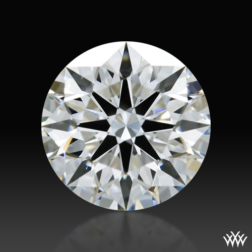 0.556 ct E VS2 A CUT ABOVE® Hearts and Arrows Super Ideal Round Cut Loose Diamond