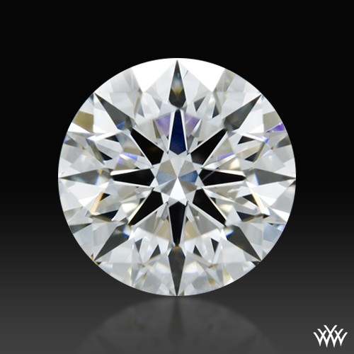 0.632 ct F SI1 A CUT ABOVE® Hearts and Arrows Super Ideal Round Cut Loose Diamond