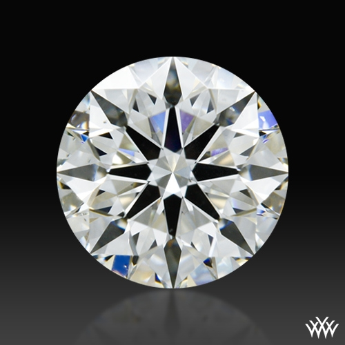 0.657 ct G VS2 A CUT ABOVE® Hearts and Arrows Super Ideal Round Cut Loose Diamond
