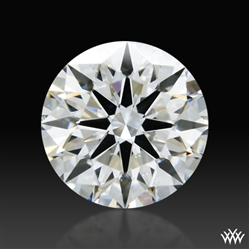 0.43 ct H SI1 A CUT ABOVE® Hearts and Arrows Super Ideal Round Cut Loose Diamond