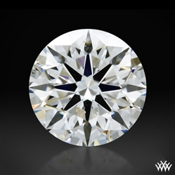 0.41 ct G SI1 A CUT ABOVE® Hearts and Arrows Super Ideal Round Cut Loose Diamond