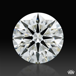 0.436 ct H SI1 A CUT ABOVE® Hearts and Arrows Super Ideal Round Cut Loose Diamond