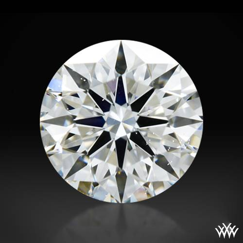 0.418 ct G SI1 A CUT ABOVE® Hearts and Arrows Super Ideal Round Cut Loose Diamond