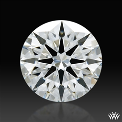 0.393 ct G VS2 A CUT ABOVE® Hearts and Arrows Super Ideal Round Cut Loose Diamond