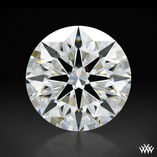 0.715 ct H VS1 A CUT ABOVE® Hearts and Arrows Super Ideal Round Cut Loose Diamond