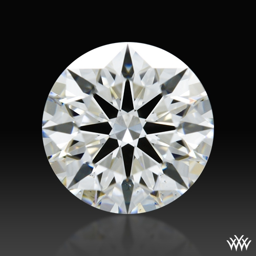0.728 ct H VS2 A CUT ABOVE® Hearts and Arrows Super Ideal Round Cut Loose Diamond