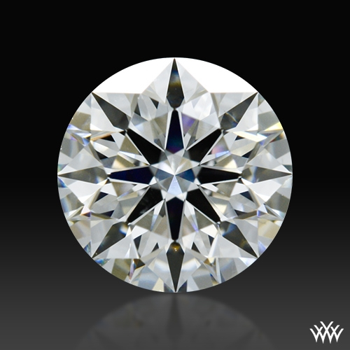 0.755 ct G VS2 A CUT ABOVE® Hearts and Arrows Super Ideal Round Cut Loose Diamond