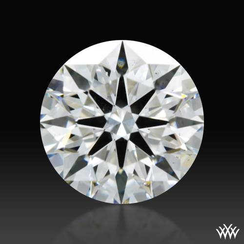 0.704 ct G SI1 A CUT ABOVE® Hearts and Arrows Super Ideal Round Cut Loose Diamond