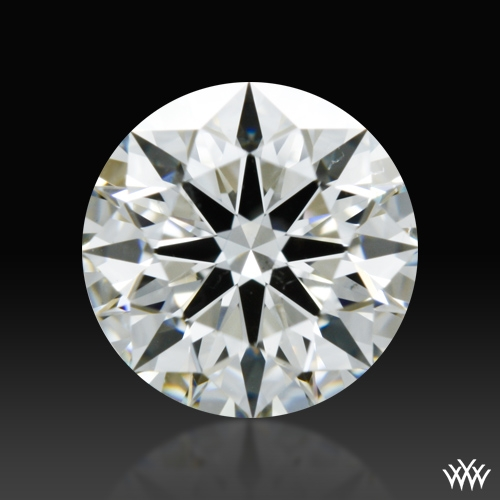 0.744 ct H SI1 A CUT ABOVE® Hearts and Arrows Super Ideal Round Cut Loose Diamond
